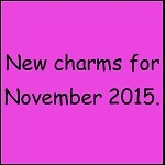 Little Story Charms- NEW for November 2015
