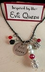 Disney inspired necklace  **Evil Queen**