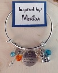 Disney inspired bracelet  **Merida**
