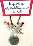 Disney inspired necklace  **Mistress of all Evil**  Any Disney related Villain