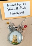 2020 NEW!  Disney inspired necklace  **Winnie the Pooh-honey pot**