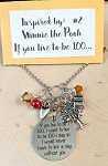 2020 NEW!  Disney inspired necklace  **Winnie the Pooh-100-1**