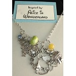 Disney inspired necklace  **Alice in Wonderland**
