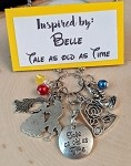 2020 NEW!  Disney inspired necklace  **Belle, Tale as old as Time**