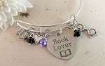Adjustable Bracelet-Book Lover