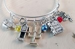 Disney inspired bracelet  **Beauty & the Beast**