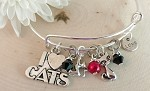 Adjustable Bracelet-Cats
