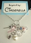 Disney inspired necklace  **Cinderella**