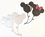 Disney inspired scrapbooking die-Mouse Balloons