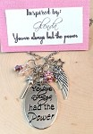 2020 NEW!  Wizard of OZ inspired necklace  **WOZ-Glenda-You've Always had the Power**