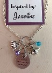 Disney inspired necklace  **Jasmine**