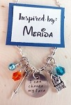 Disney inspired necklace  **Merida**