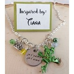 Disney inspired necklace  **Tiana**