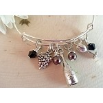 Adjustable Bracelet-Wine